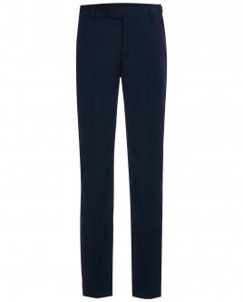 Синие брюки с регулировкой по талии OUTLET