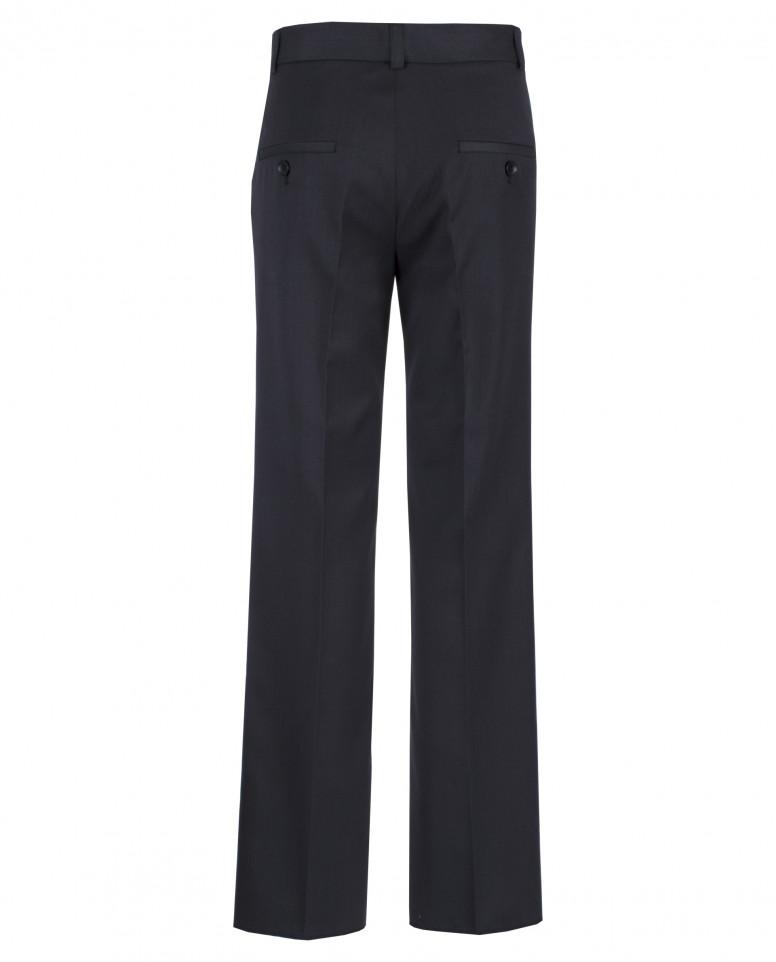 Темно-серые классические брюки