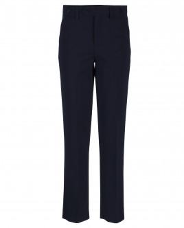 Темно-синие классические брюки OUTLET