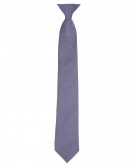 Серый галстук на клипсе OUTLET