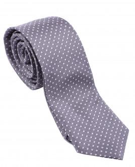 Серый галстук с узором OUTLET
