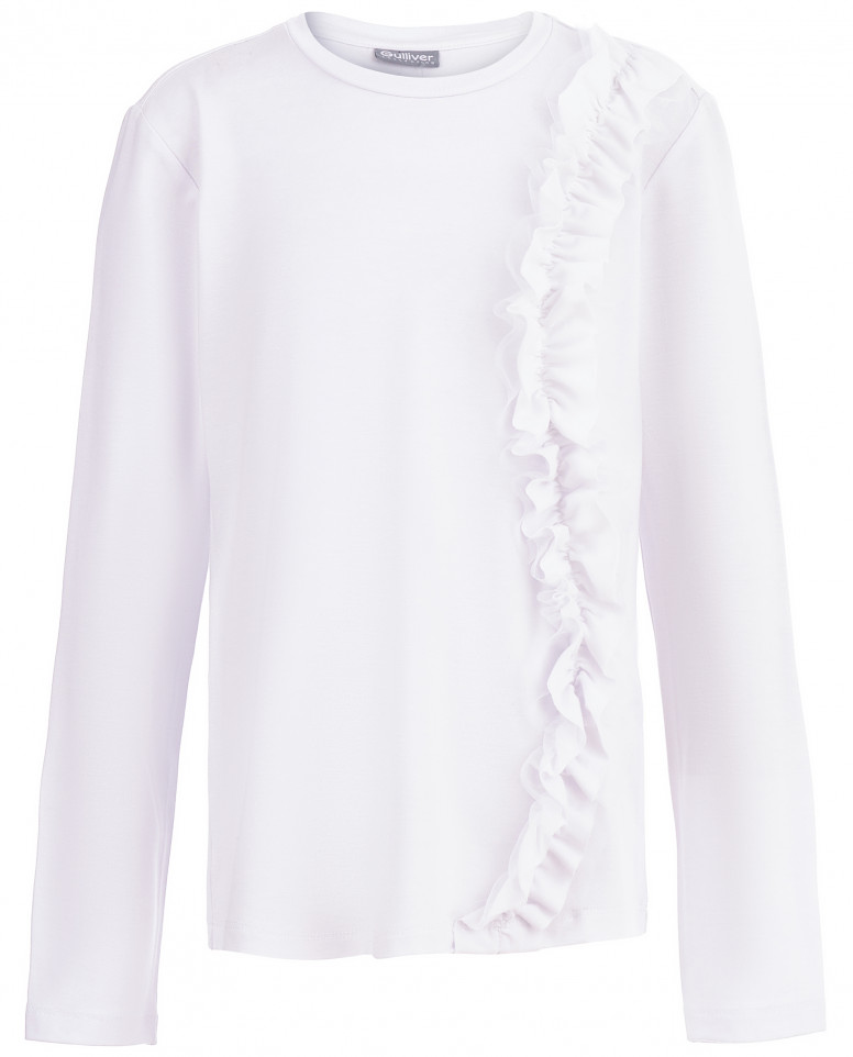 Блузка с рюшем на боку