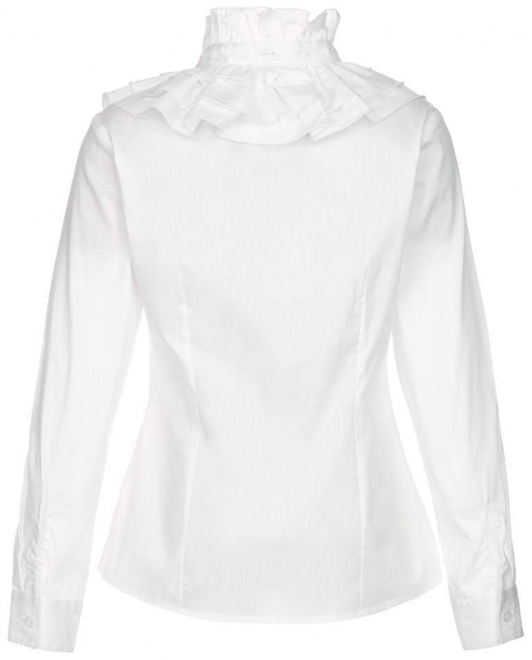 Блузка с отстегивающимся воротником