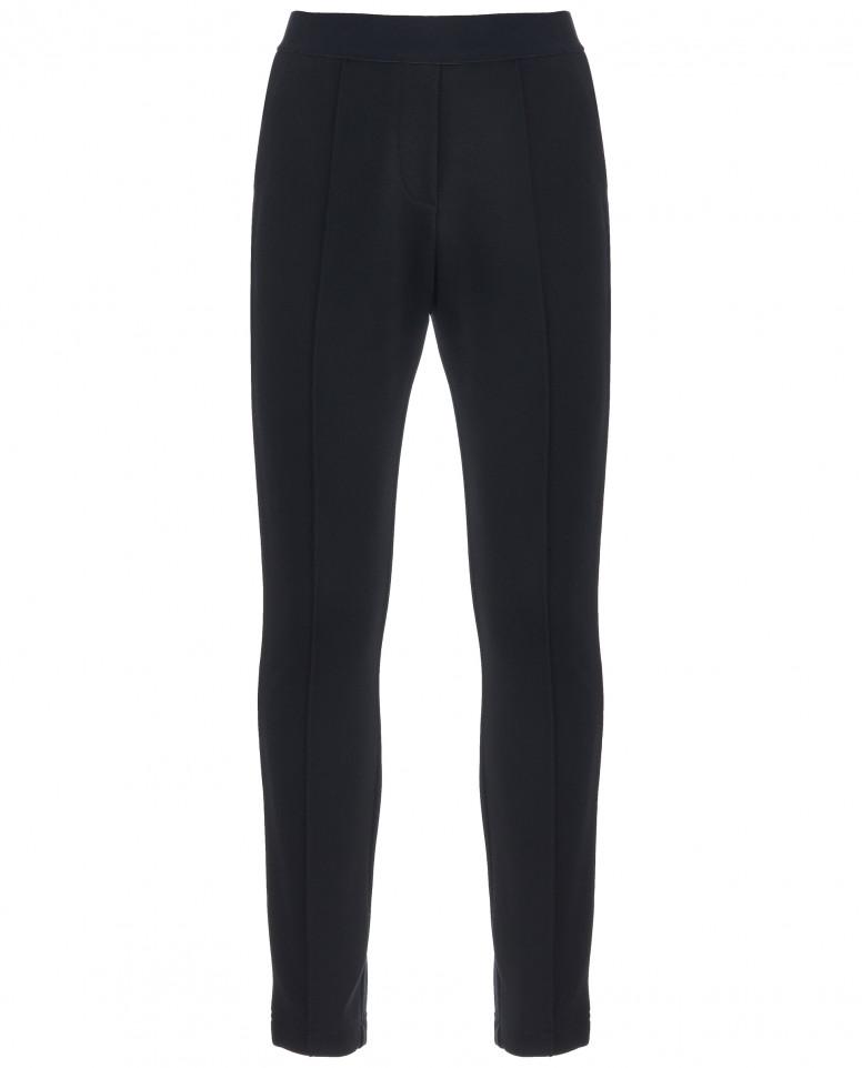 """Черные брюки из """"джерси"""""""