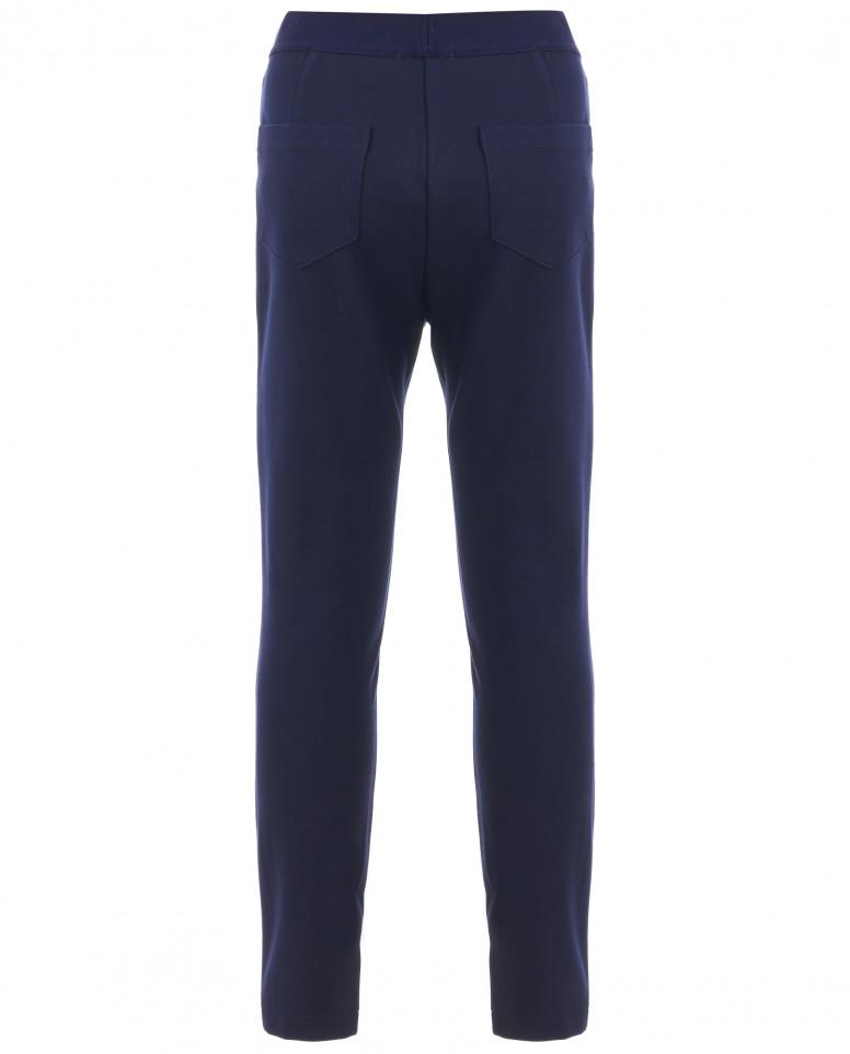 """Синие брюки из """"джерси"""""""