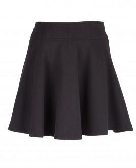 Черная юбка-клеш OUTLET