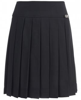 Черная юбка в складку Gulliver OUTLET