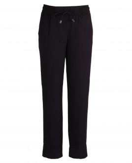 Черные брюки на резинке Gulliver OUTLET