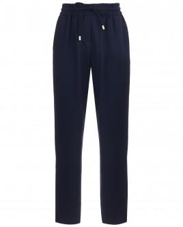Синие брюки на резинке OUTLET