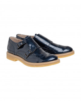 Blue lacquer shoes Gulliver