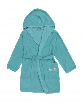 Girls' turquoise bathrobe Gulliver