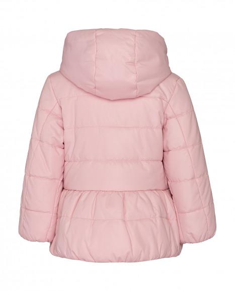 Розовая демисезонная куртка
