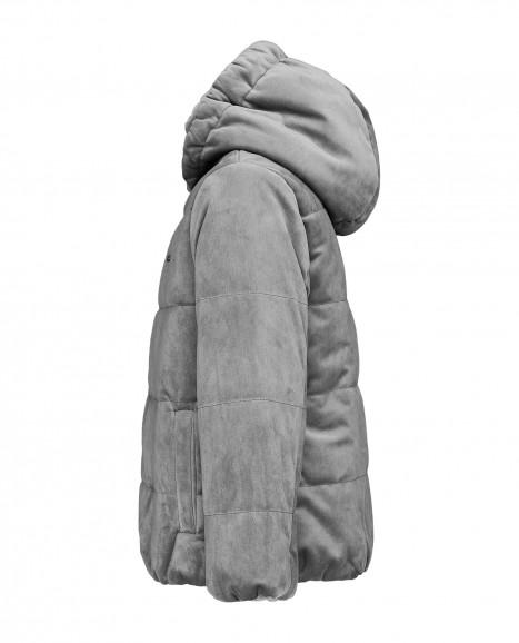 Серая демисезонная куртка