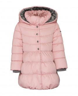 Розовое зимнее пальто Gulliver
