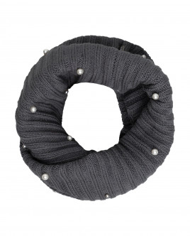 Grey knitted collar Gulliver