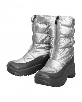 Winter silver-coloured boots Gulliver