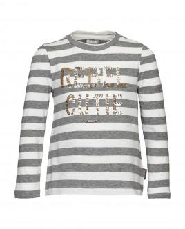 Полосатая футболка с длинным рукавом Gulliver