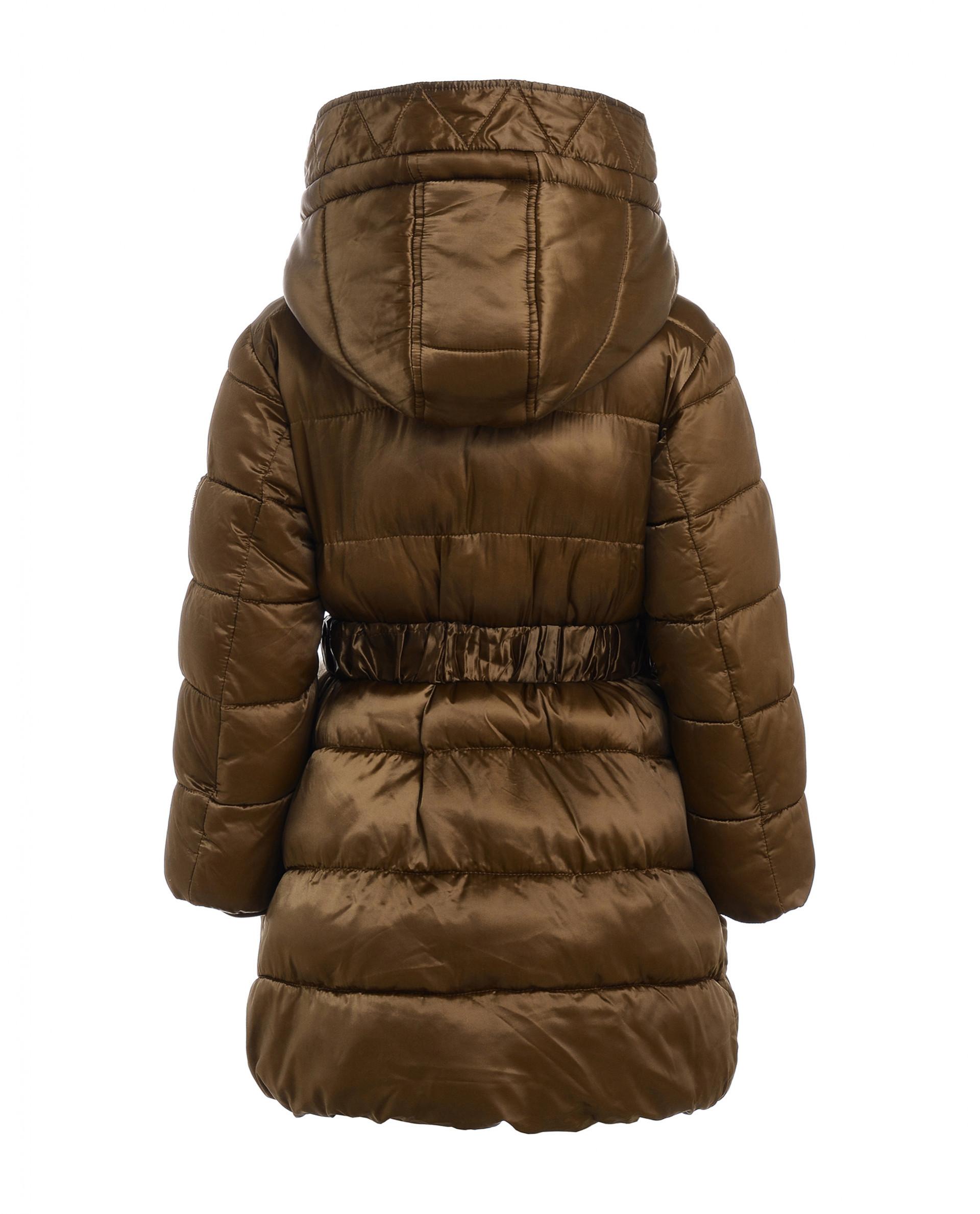 Детское бежевое зимнее пальто gulliver Gulliver – купить в