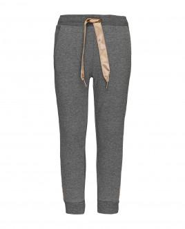 Серые меланжевые брюки Gulliver