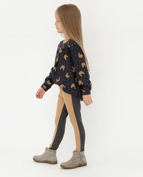 Двуцветные брюки