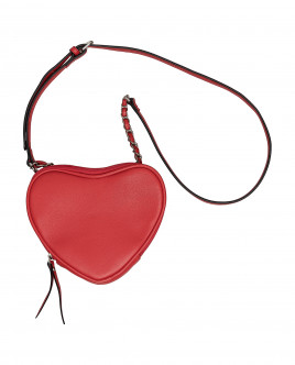 Red heart-shaped bag Gulliver