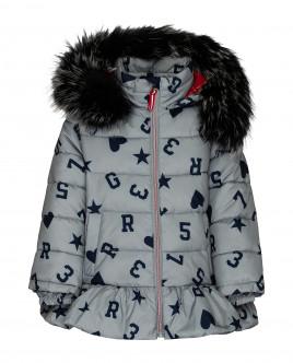 Серая зимняя куртка 21903GMC4105 фото