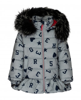 Серая зимняя куртка Gulliver