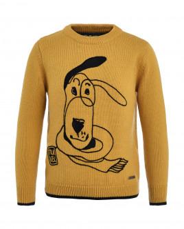 Желтый джемпер Gulliver