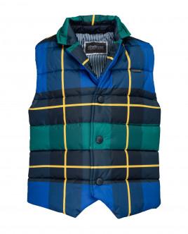 Checkered vest Gulliver