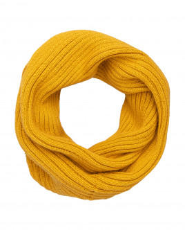 Yellow knitted collar Gulliver