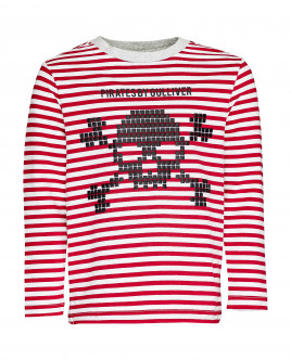 Striped long sleeve t-shirt Gulliver