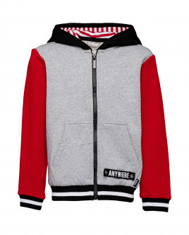 Grey and red sweatshirt Gulliver