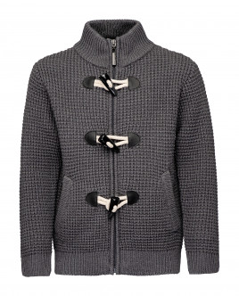 Grey cardigan Gulliver