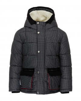 Checkered winter jacket Gulliver