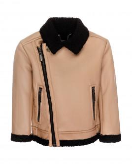 Купить 21905BMC4106, Бежевая демисезонная куртка, Gulliver Wear, бежевый, 128, Мужской