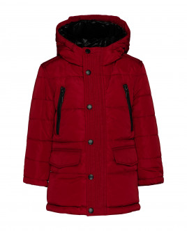Red mid-season coat Gulliver