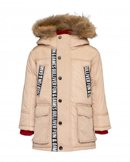 Beige winter coat Gulliver