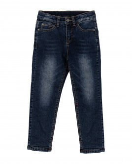 Купить 21905BMC6406, Синие утепленные джинсы, Gulliver Wear, синий, 104, Мужской
