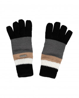 Grey knitted gloves Gulliver