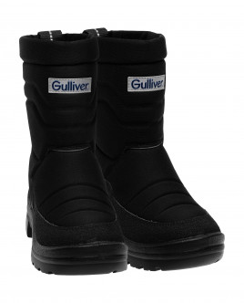 Black winter boots Gulliver