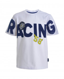 White printed t-shirt Gulliver