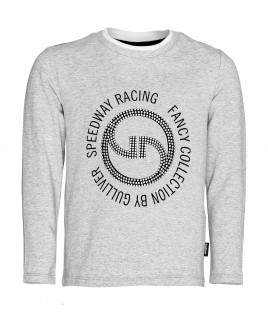 Grey long sleeve t-shirt Gulliver