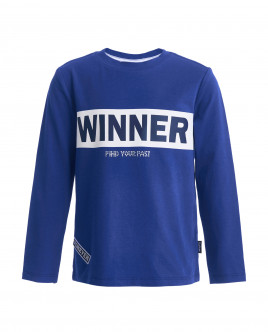 Blue long sleeve t-shirt Gulliver