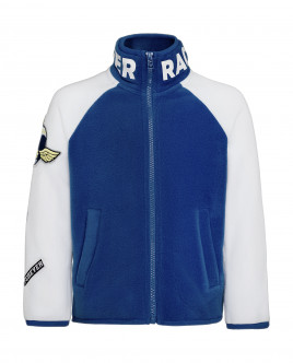 White and blue sweatshirt Gulliver