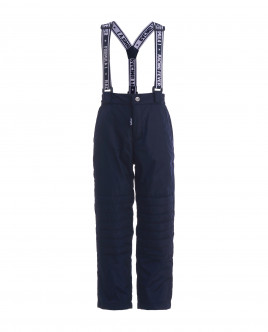 Blue warm mid-season trousers Gulliver