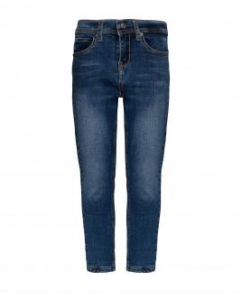 Купить 21906BMC6402, Синие утепленные джинсы, Gulliver Wear, синий, 104, Мужской