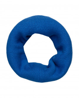 Blue knitted collar Gulliver