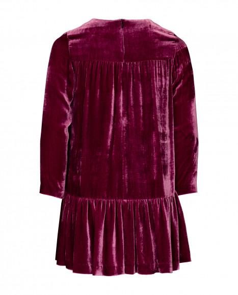 Малиновое платье