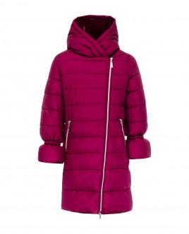 Малиновое зимнее пальто Gulliver