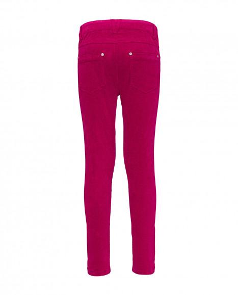 Малиновые брюки